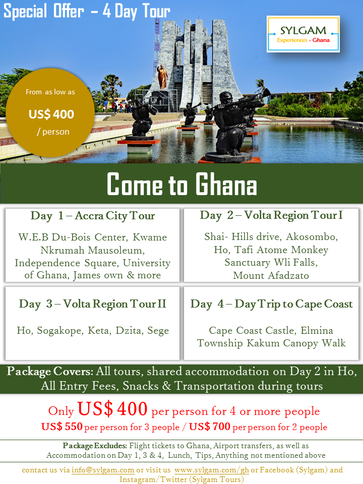 Come to Ghana 2020 Promo2 - Come to Ghana – Discount Offers